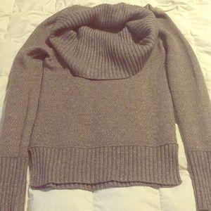 Club Monaco cowl neck sweater